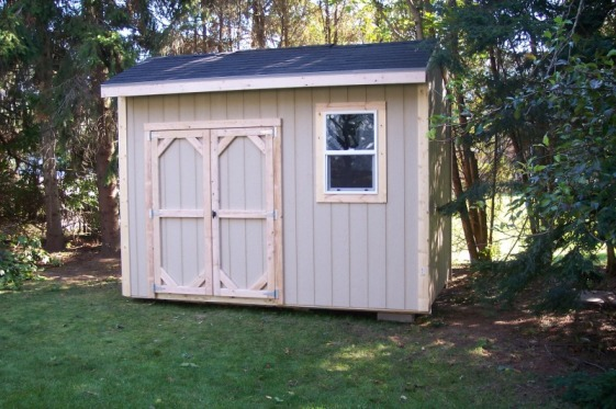 Samuel: Shed door design ideas