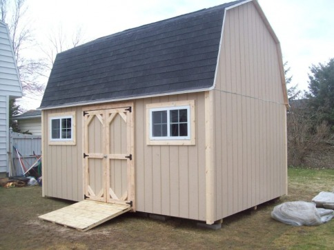 GAMBREL-BARNS - THE SHED GUY
